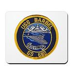 USS BARBEL Mousepad