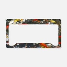 Cute Koi License Plate Holder