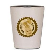 Pumping Award: Brass (2 Months) Shot Glass
