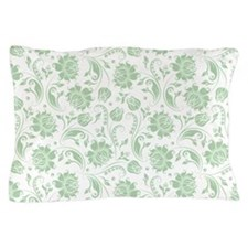 Funny Mint green Pillow Case