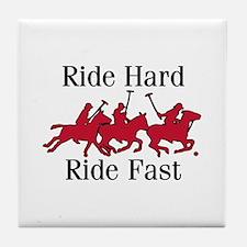 Ride Hard Tile Coaster