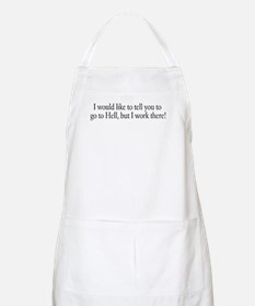 I would like to tell you to g BBQ Apron