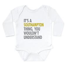 Southampton Long Sleeve Infant Bodysuit