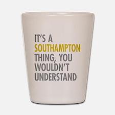 Southampton Shot Glass