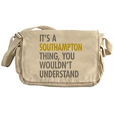 Southampton Messenger Bag