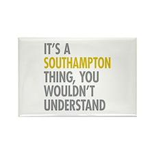 Southampton Rectangle Magnet