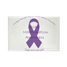 Awareness Ribbon with sarcastic phrase Magnets