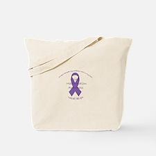 Awareness Ribbon with sarcastic phrase Tote Bag