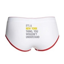 Its A New York Thing Women's Boy Brief