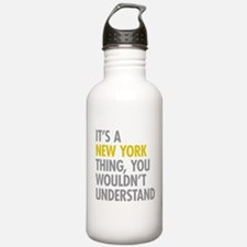 Its A New York Thing Water Bottle