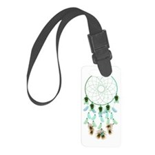 Pisces Dream Catcher Luggage Tag
