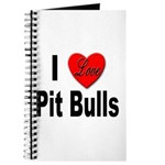 I Love Pit Bulls Journal