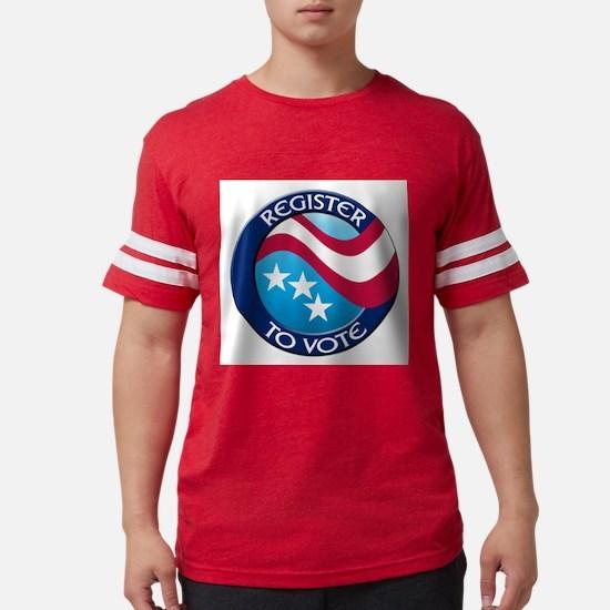 REGISTER TO VOTE Ash Grey T-Shirt