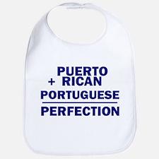 Puerto Rican + Portuguese Bib