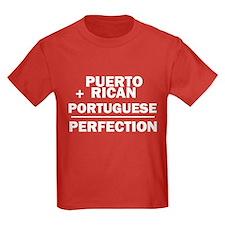 Puerto Rican + Portuguese T
