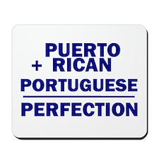 Puerto Rican + Portuguese Mousepad