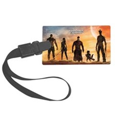 Guardians of the Galaxy Silhouet Luggage Tag