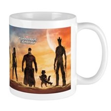 Guardians of the Galaxy Silhouette 2 Mug