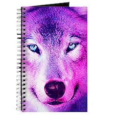 Wolf - Pink Journal