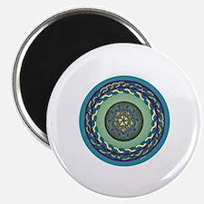 Celtic Dragonfly Tablecloth Magnet