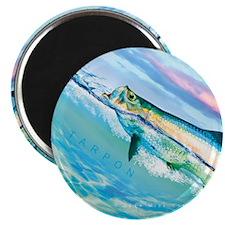 Tarpon Tile Coaster Magnet