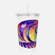 Cute Snail Acrylic Double-wall Tumbler