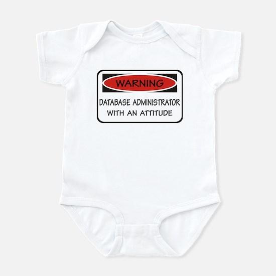 Database Administrator Infant Bodysuit
