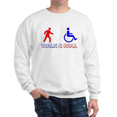 Walk and Roll Sweatshirt