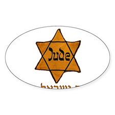 Yellow Star White Bumper Stickers
