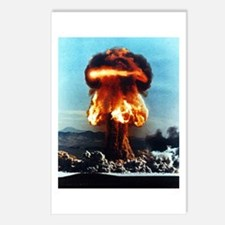 Nuclear Bomb Mushroom Cloud Postcards (Package of