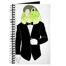 Green Cheek Conure Tuxedo Journal