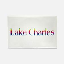 Lake Charles Rectangle Magnet