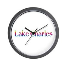 Lake Charles Wall Clock