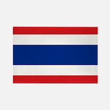 Flag Thailand Rectangle Magnet