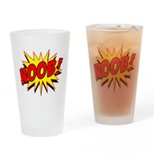 Noob! Drinking Glass