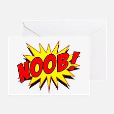 Noob! Greeting Card