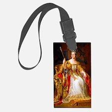 Queen Victoria Luggage Tag