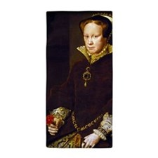 Queen Mary I. Beach Towel