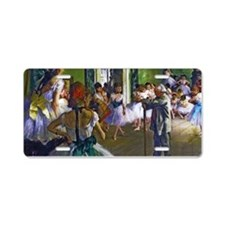 Degas - The Ballet Class Aluminum License Plate