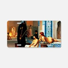 Gerome - Pool in a Harem Aluminum License Plate