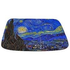 van Gogh: The Starry Night Bathmat