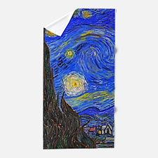 van Gogh: The Starry Night Beach Towel