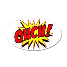 Ouch! Wall Sticker