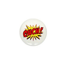 Ouch! Mini Button (10 pack)