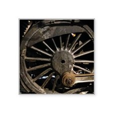 Steam Locomotive Wheel Sticker