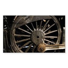 Steam Locomotive Wheel Decal