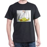 White Chinese Geese Dark T-Shirt