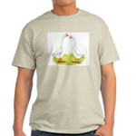 White Chinese Geese Light T-Shirt