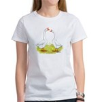 White Chinese Geese Women's T-Shirt