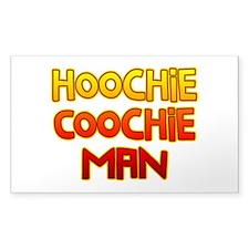 Hoochie Coochie Man Decal